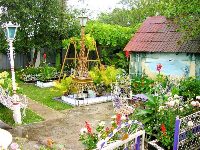 Идеи для дачи сада своими руками