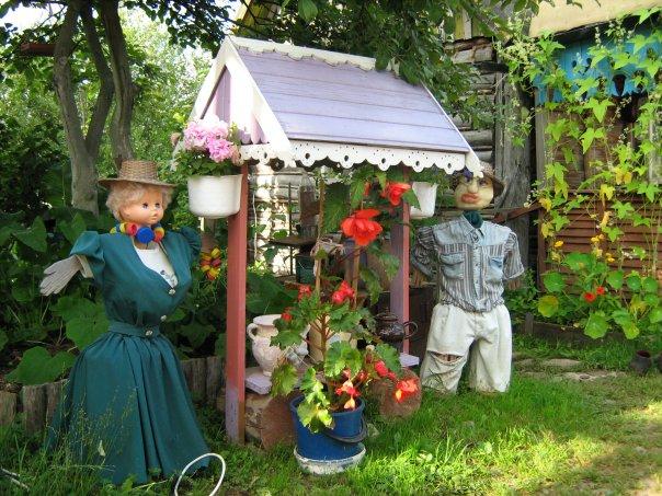 Весенние поделки в сад своими руками