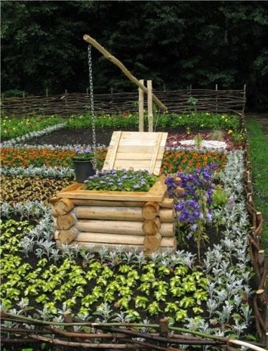 Поделки из колес для сада своими руками