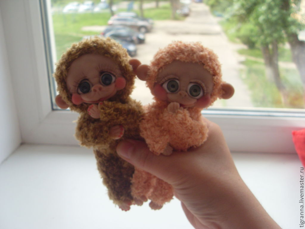 Мастер класс обезьянка своими руками фото