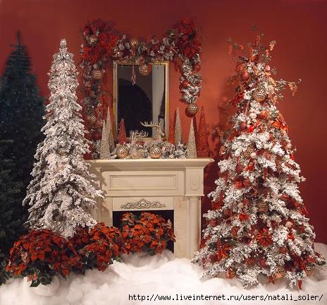 Новогоднее украшение дома своими руками на 2016
