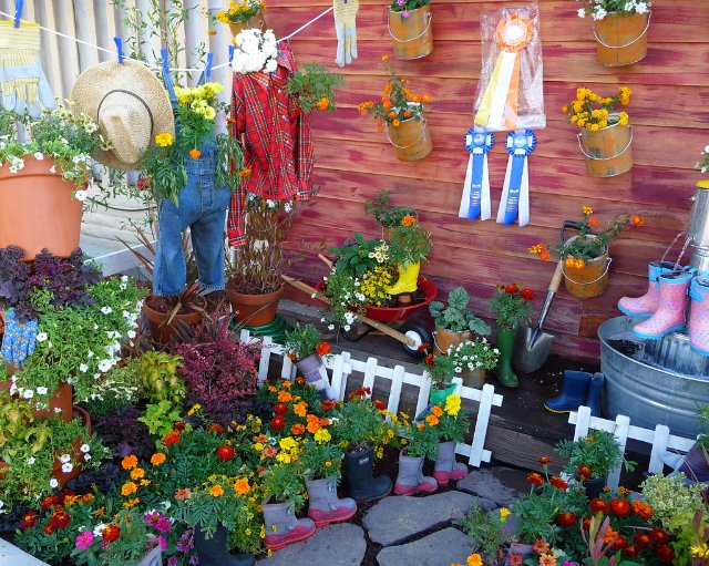 Идеи для сада огорода своими руками фото