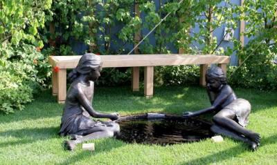 Бордюры для садовых дорожек своими руками
