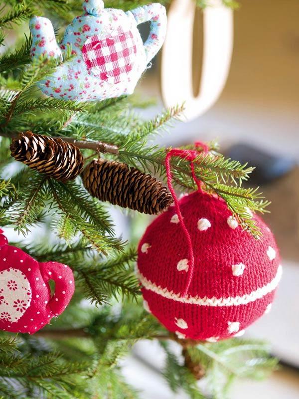 Поделки елочных игрушек новый год своими руками